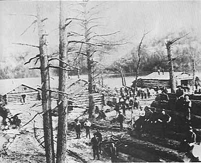 Logging Camp Ne... Logging Camp History