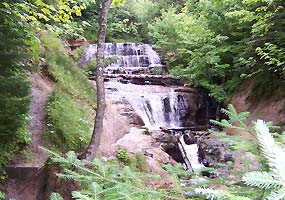 waterfalls near Grand Marais