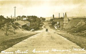history of Grand Marais MI
